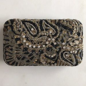 Alice and Olivia Beaded Evening Bag/Clutch